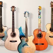 Group of Seven Guitars