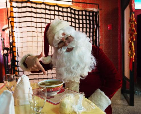 Liam Romalis as Santa